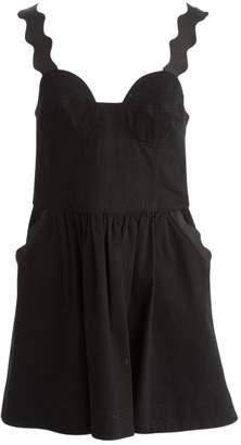 Antipodium Black Cotton Dresses