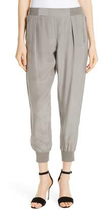ATM Anthony Thomas Melillo Side Stripe Silk Pants