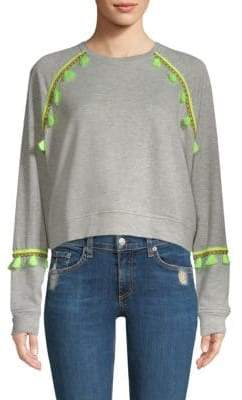 Generation Love Devon Brocade Trim Sweatshirt