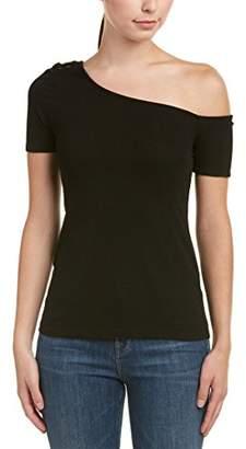 Splendid Women's Rayon 2x1 Rib One Shoulder