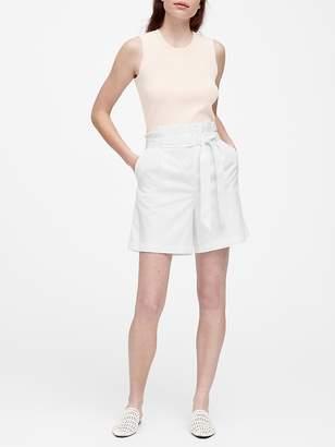 "Banana Republic JAPAN EXCLUSIVE 6.5"" Paper-Bag Shorts"