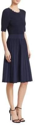 Lela Rose Full Skirt A-Line Dress