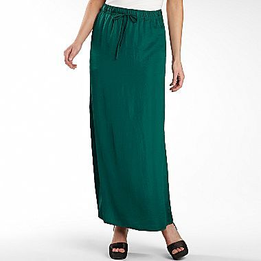 JCPenney Worthington® Drawstring Maxi Skirt