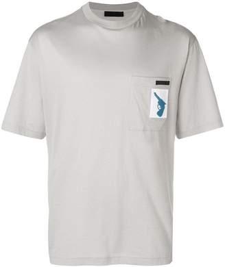 Prada patch pocket T-shirt
