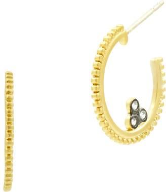 Freida Rothman Imperial Small Hoop Earrings