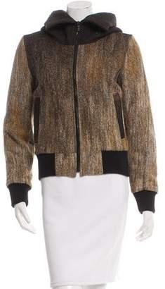 Christopher Raeburn Hooded Wool Bomber Jacket w/ Tags