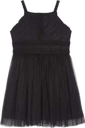 Trixxi Sleeveless Tulle Dress