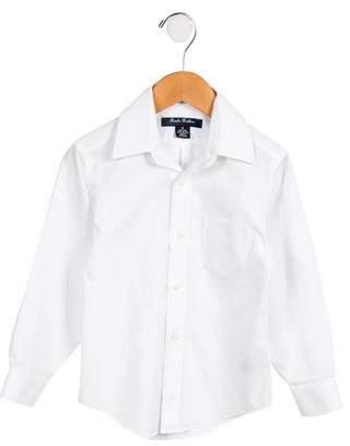 Brooks Brothers Boys' Poplin Button-Up Shirt