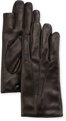 3point Guanti Giglio Fiorentino 3-Point Napa Leather Gloves w/ Cashmere Lining