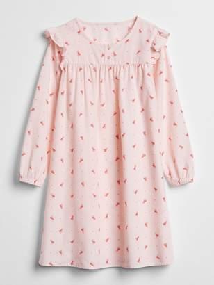 Gap Big Dreams Ruffle Floral PJ Dress