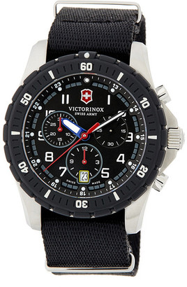 Victorinox Swiss Army Men&s Maverick Chronograph Sport Watch $495 thestylecure.com