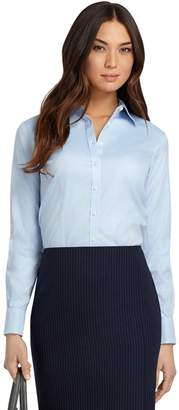 Brooks Brothers Petite Non-Iron Fitted French Cuff Dress Shirt