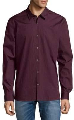 John Varvatos Slim-Fit Cotton Button-Down Shirt