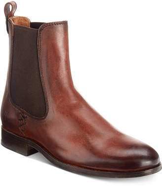 Frye Melissa Chelsea Leather Booties Women Shoes