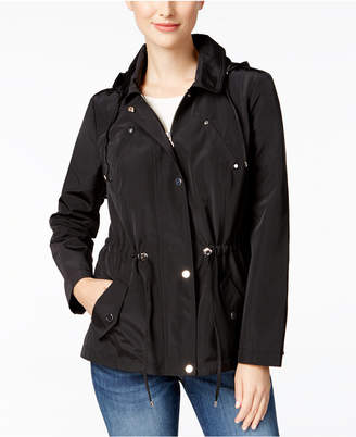 Charter Club Water-Resistant Hooded Anorak Jacket, Created for Macy's $99.50 thestylecure.com