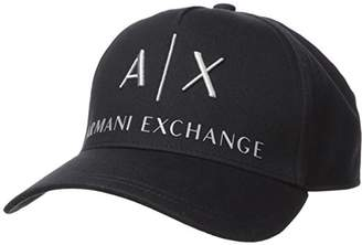 745a7b540ae Armani Exchange Men s Logo Hat Baseball Cap
