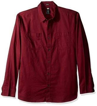 Dickies Men's Long Sleeve Relaxed fit Solid Shirt