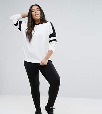 Asos DESIGN Curve premium supersoft legging in cotton modal