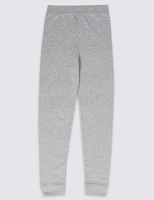 Marks and Spencer Cotton Blend Thermal Long Pants (18 Months - 16 Years)