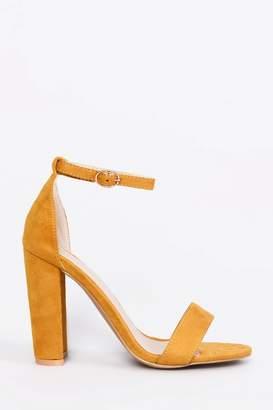 Next Womens Glamorous Wide Foot Block Heel