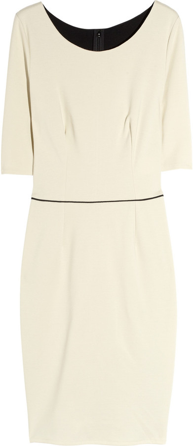 Stella McCartney Two-tone jersey dress