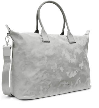 eb57a24b102fb Ted Baker LESLEY Reflective camo large tote bag