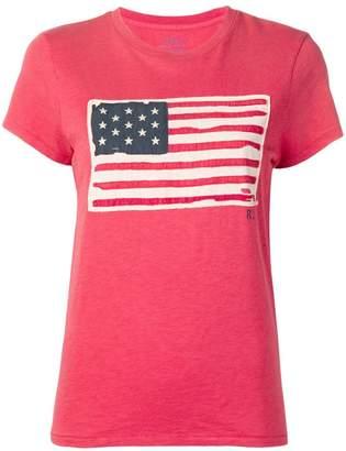 Polo Ralph Lauren flag patch T-shirt