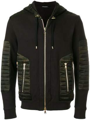 Balmain camouflage zipped jacket