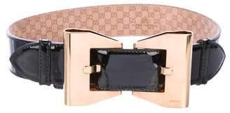 Gucci Bow Buckle Waist Belt