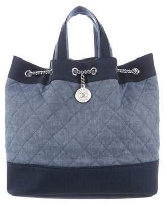 Chanel Denim Backpack