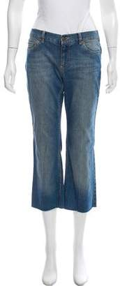 Marc Jacobs Mid-Rise Cropped Jeans