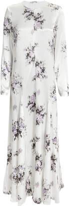 Ganni Cameron Floral Midi Dress