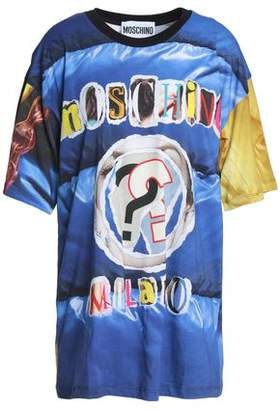 Moschino Printed Cotton-Jersey T-Shirt
