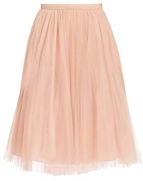 Jenny Yoo Women's Lucy Tulle Midi Skirt