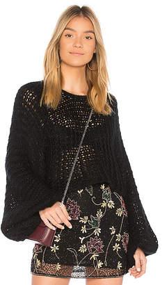 Raga Candace Crochet Knit Sweater