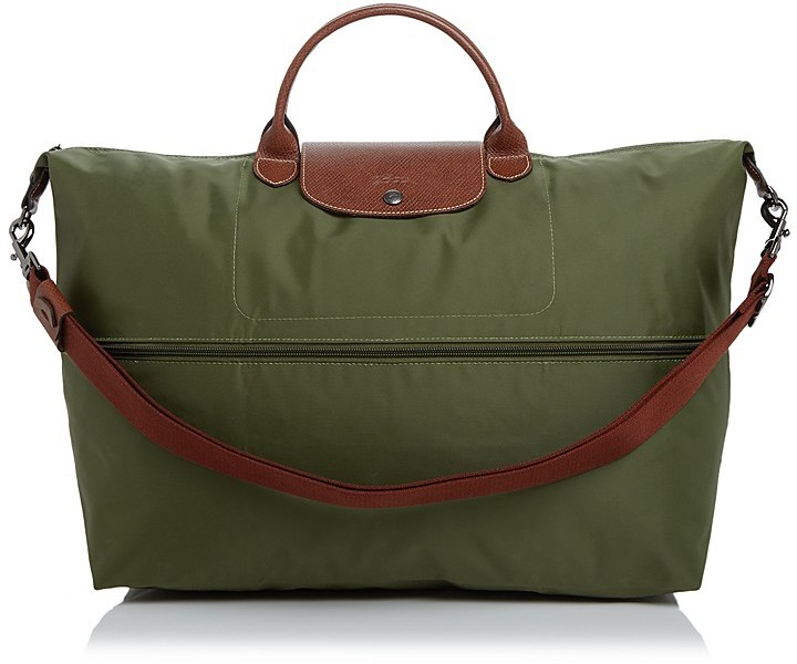 Longchamp Le Pliage Expandable Travel Duffel Weekender