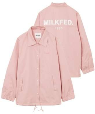 Milkfed. (ミルクフェド) - ミルクフェド BACK STENCIL COACHES JACKET