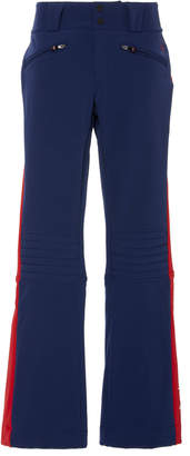 Perfect Moment GT Striped Stretch-Jersey Flared Ski Pants