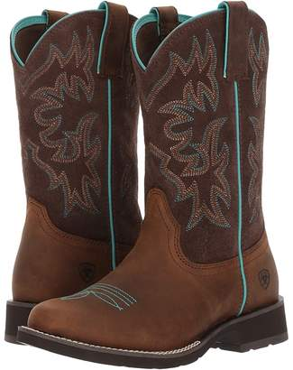 Ariat Delilah Round Toe Cowboy Boots