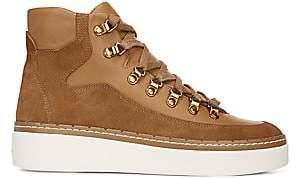 Vince Women's Soren Leather & Suede High-Top Sneakers