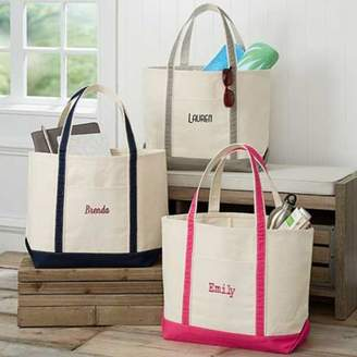 The Deluxe Weekender Embroidered Name Tote $39.99 thestylecure.com