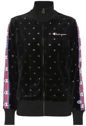 Champion Velvet zip-up jacket