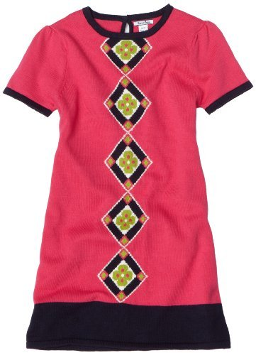 Hartstrings Girls 7-16 Short Sleeve Sweater Dress