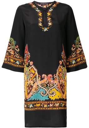 Etro print shift dress