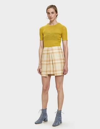 Aalto Check Mini Skirt