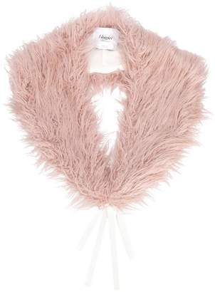 Blugirl faux-fur collar