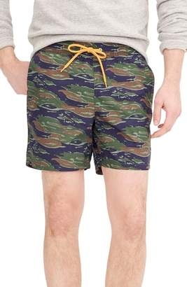 J.Crew J. CREW Camo Swim Trunks