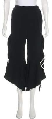 Jonathan Simkhai High-Rise Flared Pants