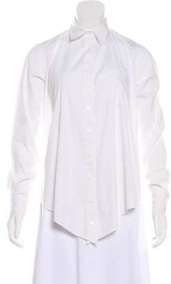 Jean Paul Gaultier Collar Button-Up Top