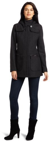 Vince Camuto Women's Hooded Wool Jacket